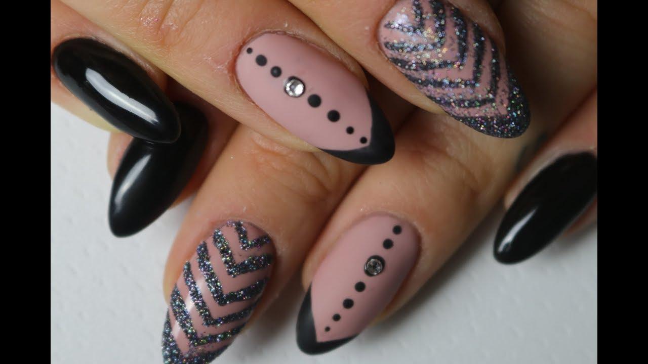 Prosty Wzorek Na Paznokcie Easy Nails Art Designs Youtube