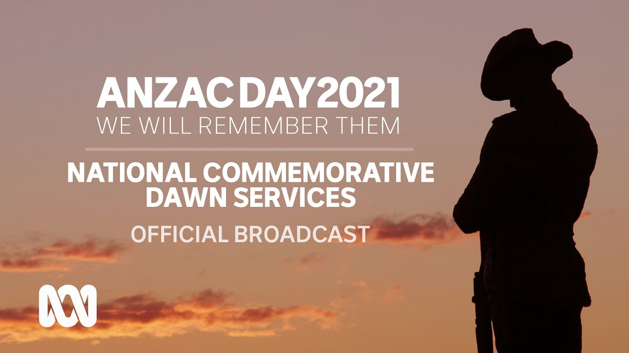 Anzac Day 2021 - Commemorative dawn services | OFFICIAL BROADCAST | ABC Australia