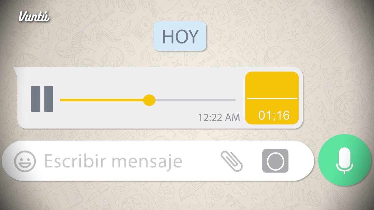 WhatsApp| Habrá cambios en la modalidad de enviar audios