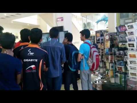 Dialog Gaming Exhibition, Crescat Shopping Complex, Colombo, Sri Lanka