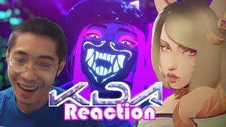 K/DA - Pop/Stars Reaction-So Stylish!! (League of Legends)