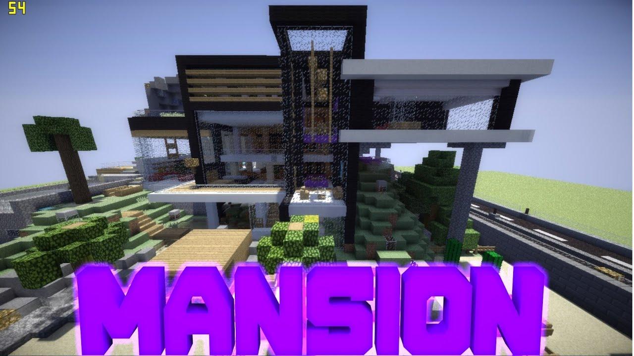 0 8 1 Minecraft Pe Modern Mansion  Download