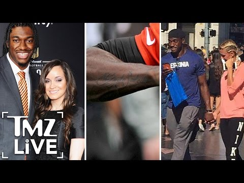 Robert Griffin III -- I Got My New Chick ... TATTED ON MY ARM! (PHOTO) | TMZ Live