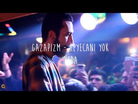 Gazapizm - Heyecanı Yok + Veda Canlı (ADANA) Beyoğlu Cafe 20.03.2018