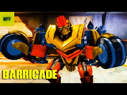 BARRICADE EVOLUTION Real Steel Boxing Android/IOS Gameplay