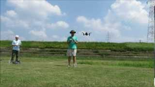 AR Drone2 2nd flight Kyoto JAPAN