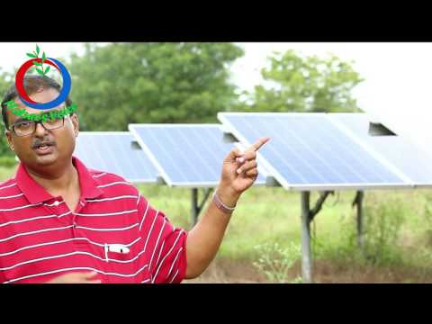 Renewable Energy | Benifits of SOLAR PUMP SETS in Agriculture | Sharath Pendekanti-10