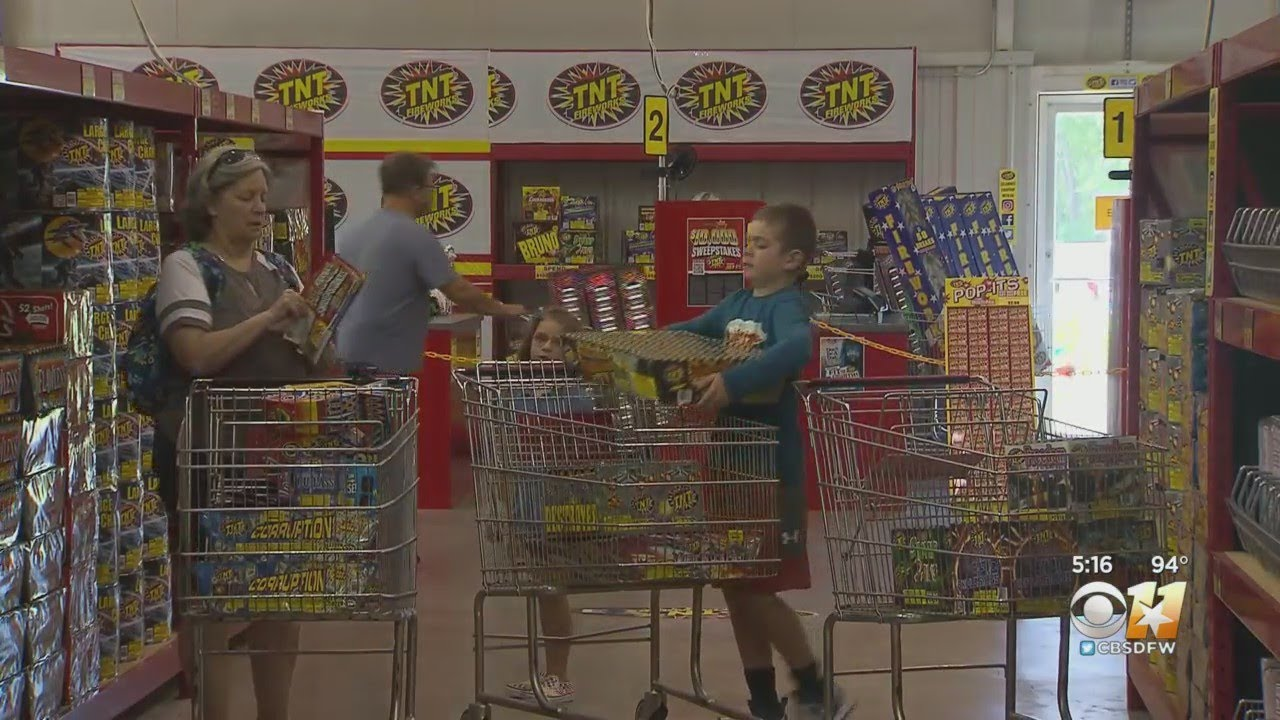 Shortages Causing Rush To Buy Fireworks In North Texas