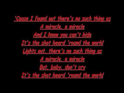Shot Heard 'Round The World LYRICS