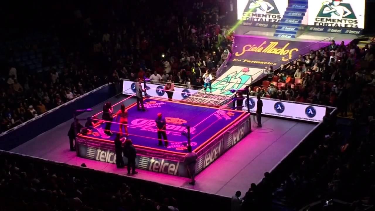Lucha Libre in Arena Mexico, Mexico City - YouTube