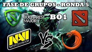 DOTA 2 EN VIVO - Natus Vincere vs TNC BO1 The Bucharest Major 2018 Dota 2