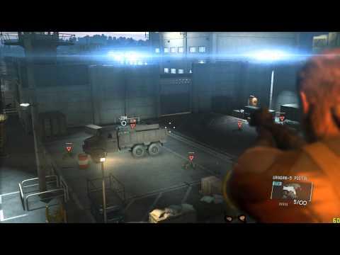 Metal Gear Solid V: Ground Zeroes Save Hideo Kojima S Rank Hard Mode 60FPS