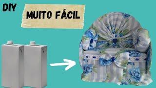 PESO DE PORTA FÁCIL – SOFÁ DE CAIXA DE LEITE