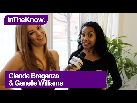 Saving Hope's Glenda Braganza and Remedy's Genelle Williams Lend Literal Support!  InTheKnow