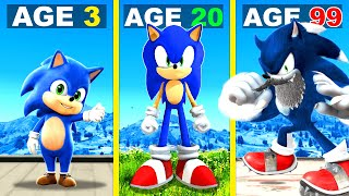 Surviving 99 YEARS As SONIC In GTA 5 ...