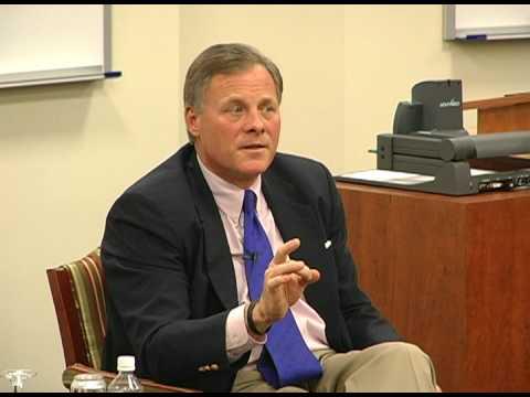 Senator Richard Burr advises graduates entering a tough job market
