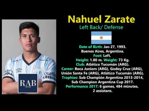 Nahuel Zarate - Left Back /Defense  - Argentina - RAB SPORT