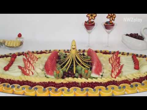 Kunstwerke Aus Obst Und Gemüse Youtube