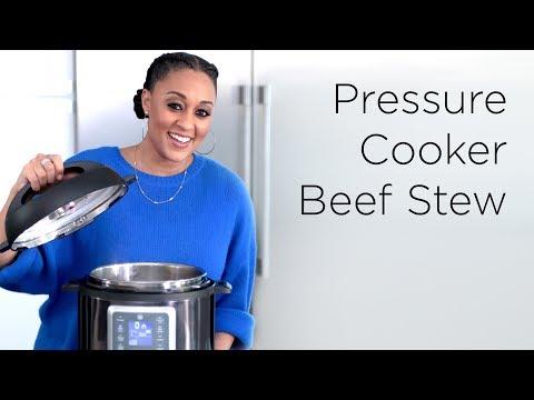 Tia Mowry's Easy Pressure Cooker Beef Stew   Quick Fix