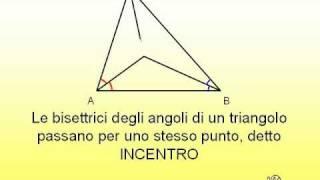 20 - Teorema dell'incentro