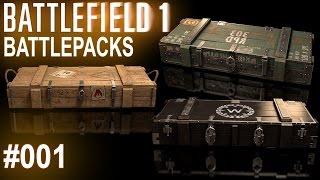 BATTLEFIELD 1: Battlepack Opening #001 (German/Deutsch)