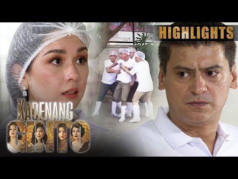 Hector, gumawa ng gulo para matakasan si Romina | Kadenang Ginto (With Eng Subs)