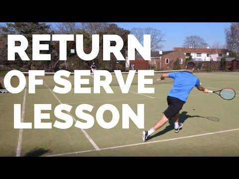 Tennis Return of Serve Lesson - 3 Tips To Transform Your Return