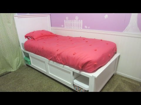 Child's Storage Bed (How To Build)