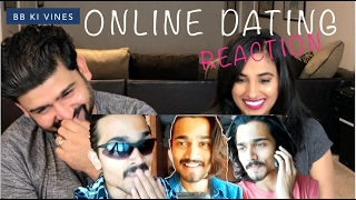 Download Video BB Ki Vines - Online Dating Reaction | Reaction by RajDeep MP3 3GP MP4