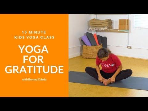 Yoga For Gratitude Kids Yoga Class With Yoga Ed Youtube
