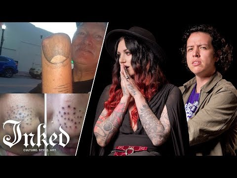 The Man Cave - Tattoo Artists Fix Bad Tattoos