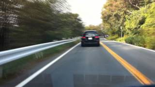 """A drive down the """"Initial D"""" route from the parking area toward the..."""