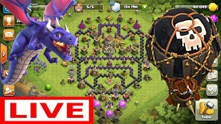 Playing Clash Of Clans, Completing 200 Gems Event & Base Reviews | Clash With Stunning Elysia | #1