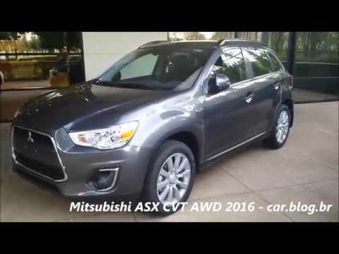 Mitsubishi ASX 2016 2.0 CVT AWD detalhes, consumo www.car.blog.br