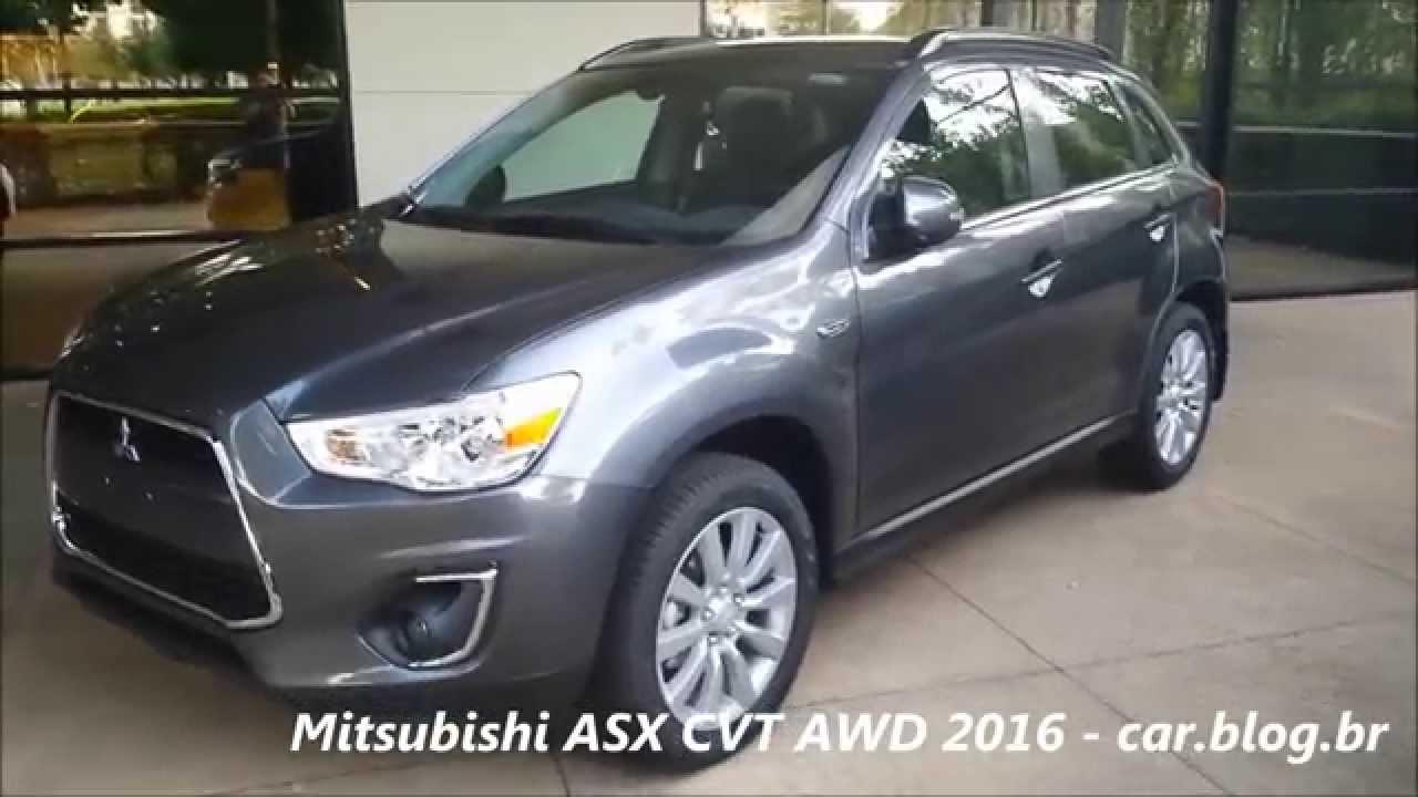 Mitsubishi Asx 2016 : mitsubishi asx 2016 2 0 cvt awd detalhes consumo youtube ~ Aude.kayakingforconservation.com Haus und Dekorationen