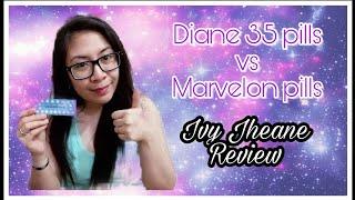 Diane 35 vs Marvelon (Pills) - Ivy Jheane Review