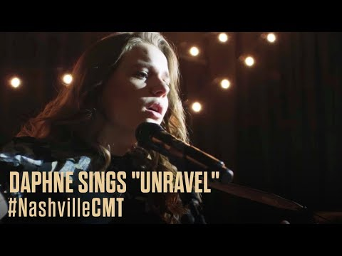 "NASHVILLE ON CMT | Daphne Sings ""Unravel"""