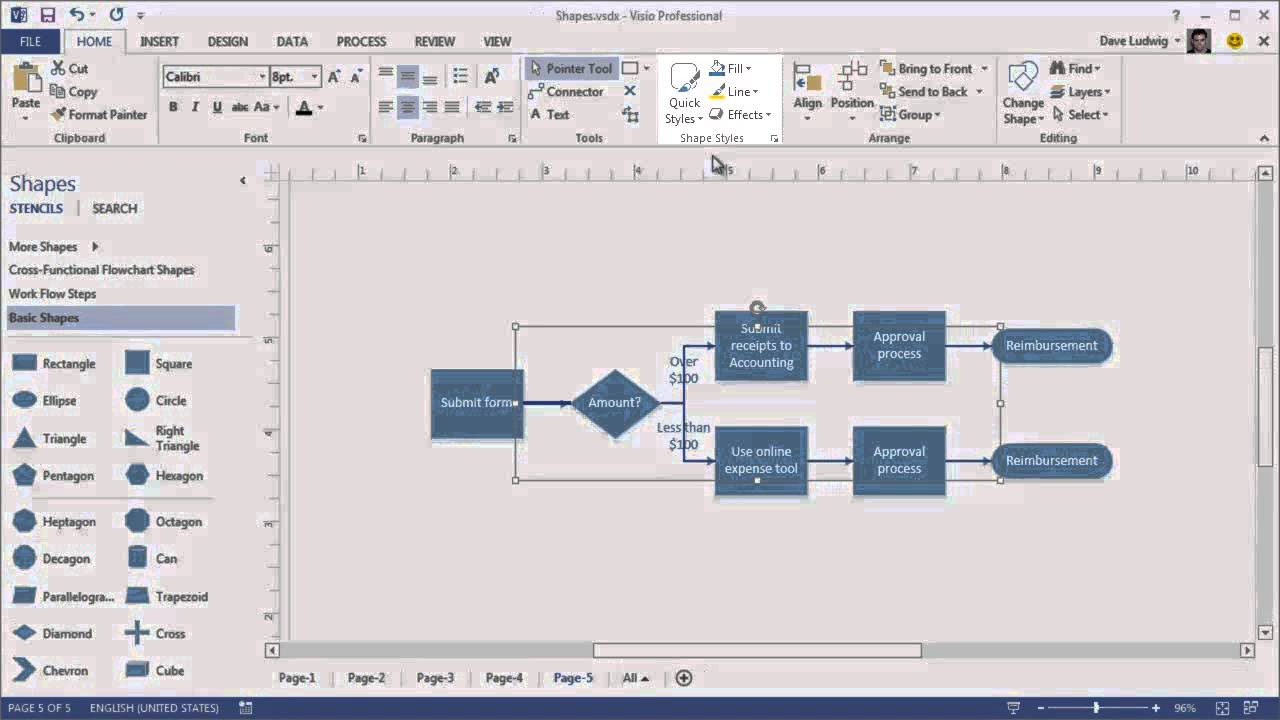 Training make the switch to visio adding and changing shapes video of youtube also rh