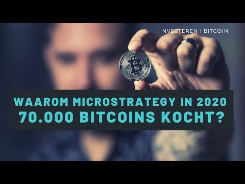 Waarom kocht Microstrategy 70.000 Bitcoins in 2020? – Vraag van Madelon Vos aan BTC Direct