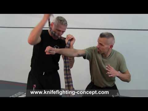 Knife & Rope Combat - Lesson by TCS Knife Fighting Concept (Peter Weckauf)
