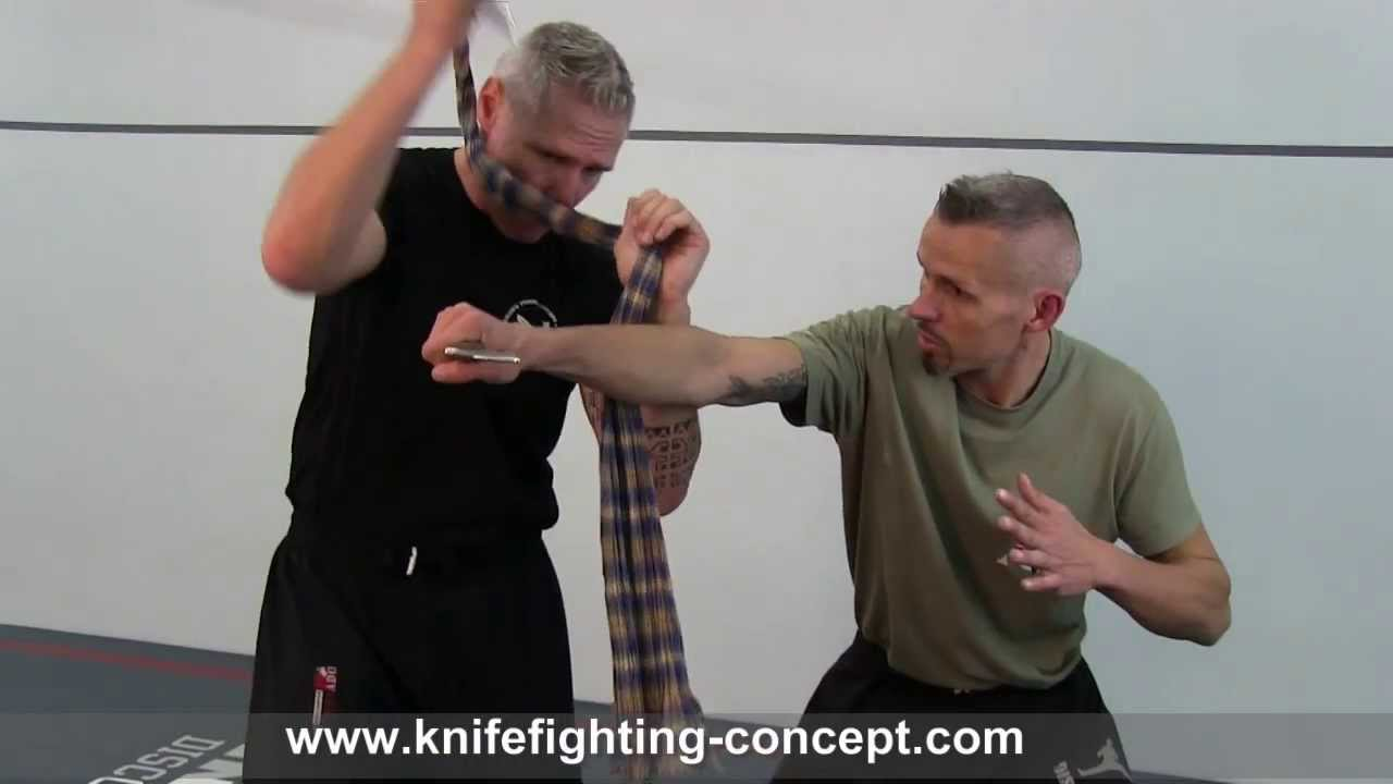 Knife & Rope Combat - Lesson by SAMICS Knife Fighting Concept (Peter  Weckauf)