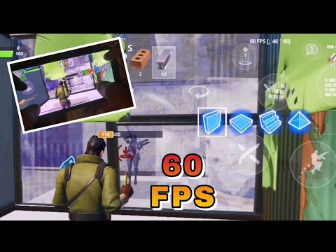 How To Get 60FPS For Fortnite For IPhone And Android Working✔️