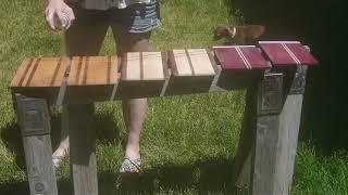 DIY  Self Bound Wooden Journal