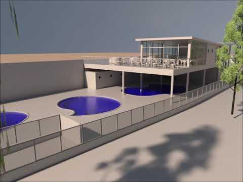 El Concello de Ponte Caldelas expone el anteproyecto del nuevo balneario