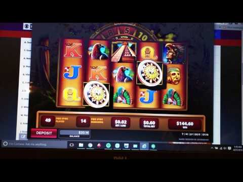 Montezuma HUGE Win Online Slots 888 Casino NJ Part 1