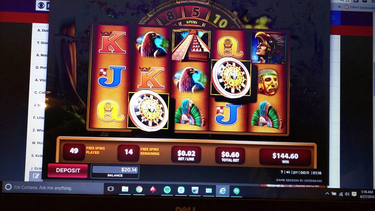 Montezuma Huge Win Online Slots 888 Casino Nj Part 1 Youtube