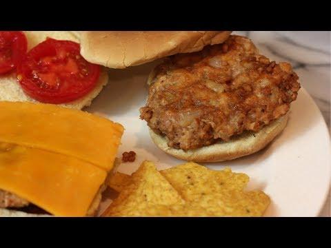 chicken-burger-recipe-(bbq)-|-ground-chicken-recipes-|-how-to-make-ground-chicken-burgers