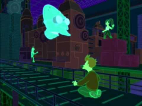 Futurama - Fry Experto en Videojuegos de realidad virtual
