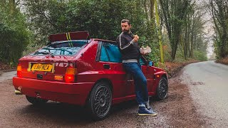 Lancia Delta Integrale FINAL EDITION - First Drive Review! Modern Classics Ep 4