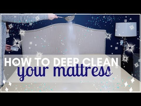HOW TO CLEAN YOUR MATTRESS WITH BAKING SODA